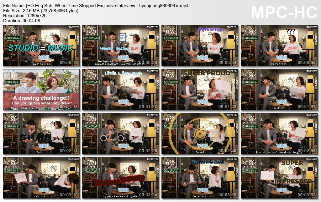 HD Eng Sub] When Time Stopped Exclusive Interview - hyunjoong860606.ir]